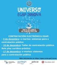 A EGAP convoca varias actividades sobre contratación electrónica